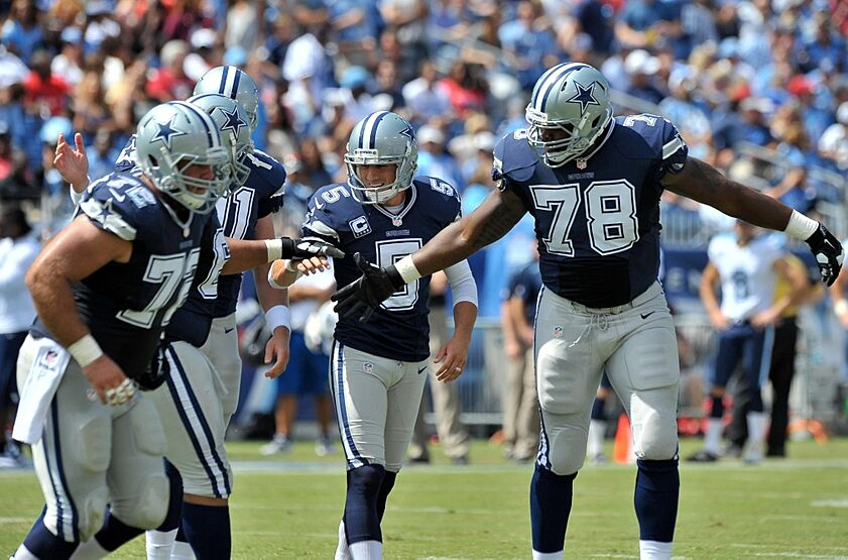 68c40f2d4cc Sep 14, 2014; Nashville, TN, USA; Dallas Cowboys kicker Dan Bailey