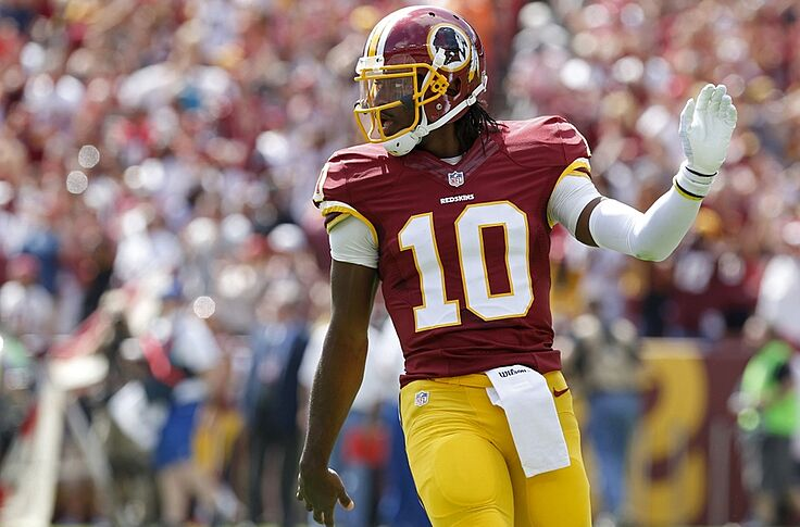 best website 8c5e3 0d91f Robert Griffin III jerseys placed on the clearance rack (Photo)