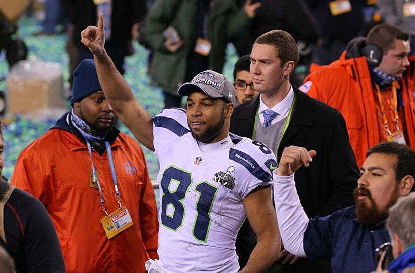 Percy Harvin Gave Golden Tate A Black Eye Before Super Bowl