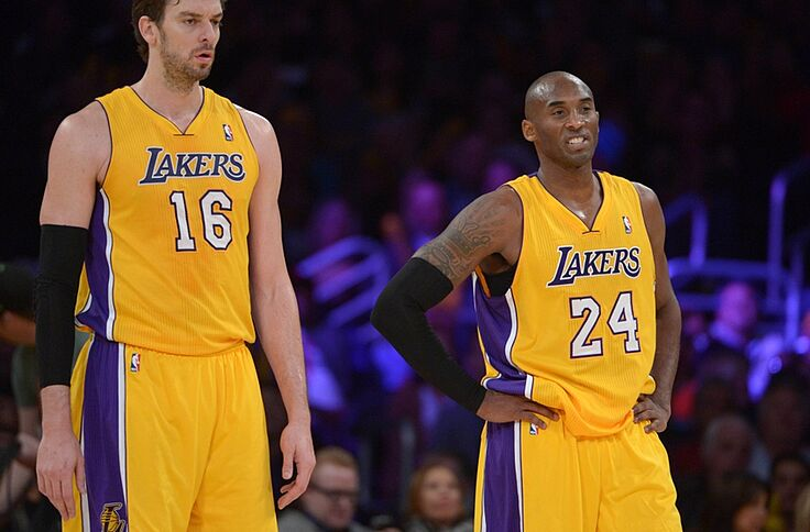 pretty nice 9ad8a 375d8 Kobe Bryant Thought He'd Retire With Pau Gasol