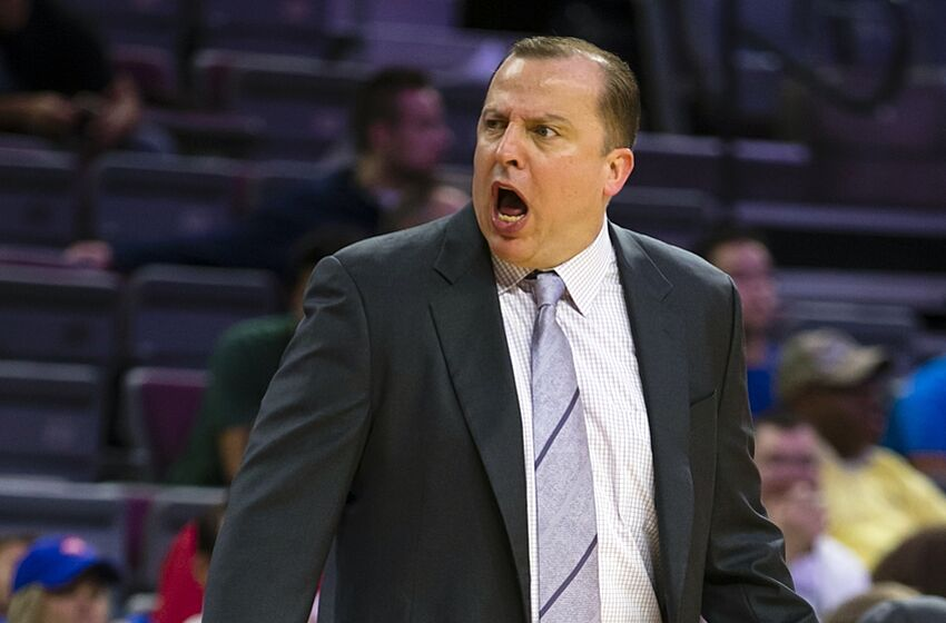 Tom Thibodeau continues to be scariest human alive (Video)