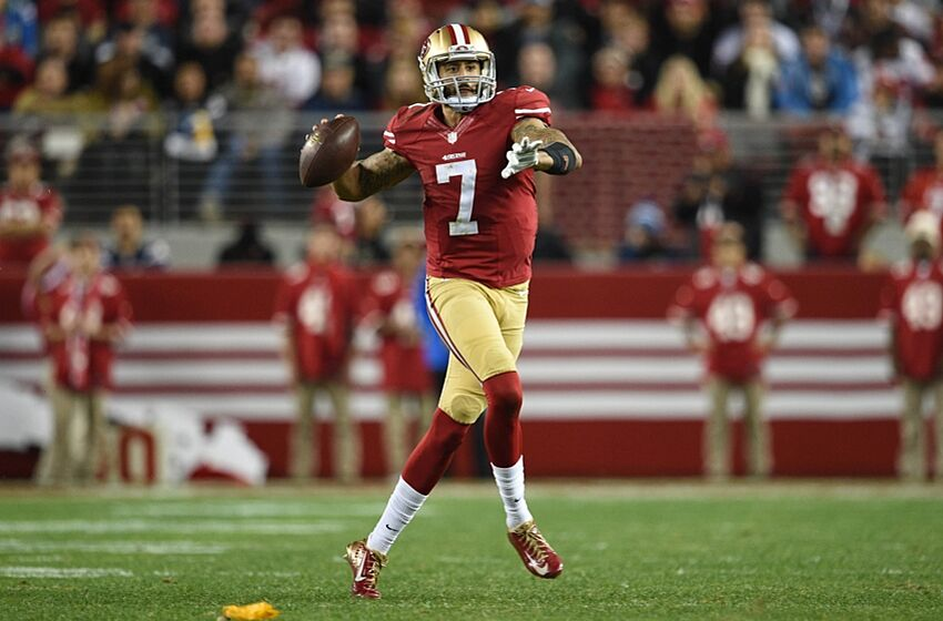 67e1e298e73 Colin Kaepernick Leads 49ers In 2014 Jersey Sales