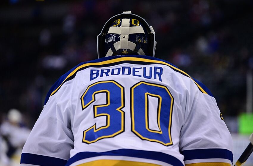St Louis Blues What Of Martin Brodeur S Legacy