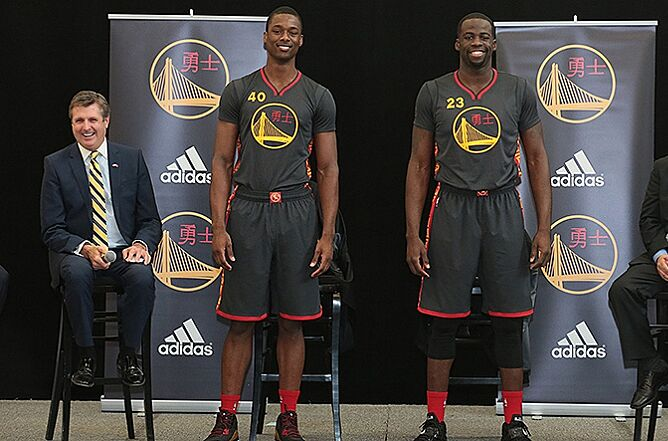 san francisco 2c359 b5a7b Golden State Warriors uniforms honor Chinese new year