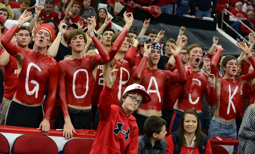 Nc State Fans Chanted Ymca At Syracuse Basketball Players