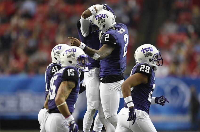 8b02f4b11 TCU Horned Frogs reveal new football uniforms (Photo)