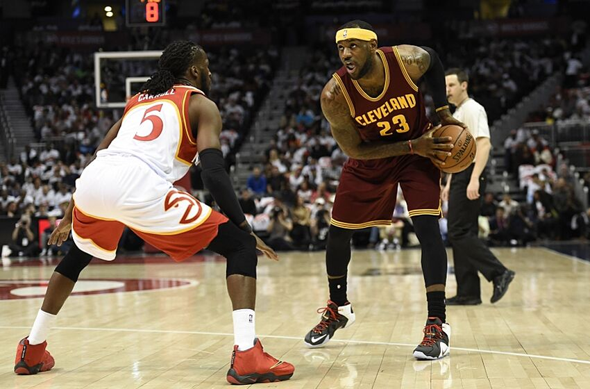 46c75c6db37a Mar 6, 2015; Atlanta, GA, USA; Cleveland Cavaliers forward LeBron James