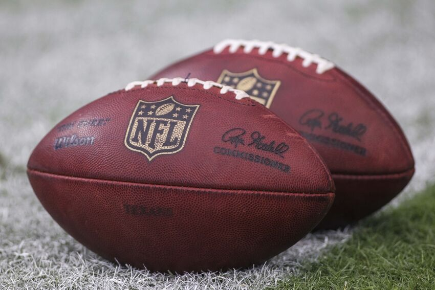 Football Invented With Air Gauge Built In Photo