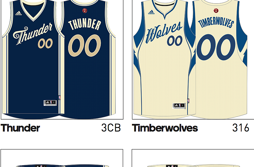 2015 NBA Christmas Day jerseys leaked (Photos) 1f8961183