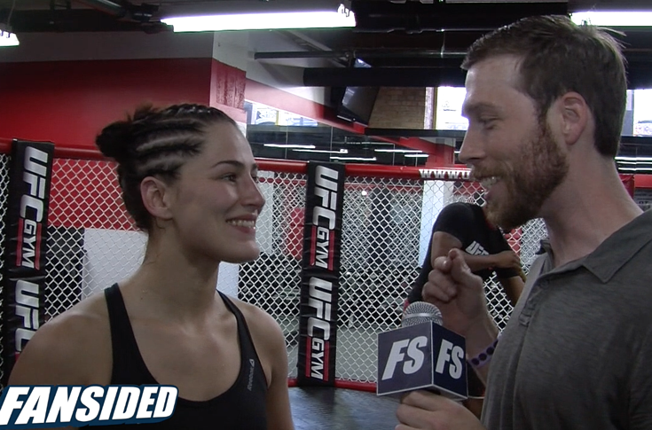 Jessica Eye breaks down how MGK walkout song came to be