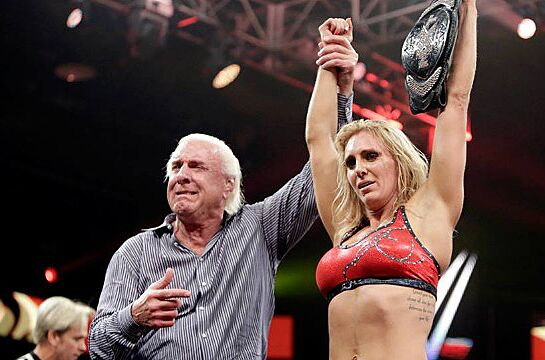 Ric Flair Tearfully Introduces Charlotte As Wwe Divas