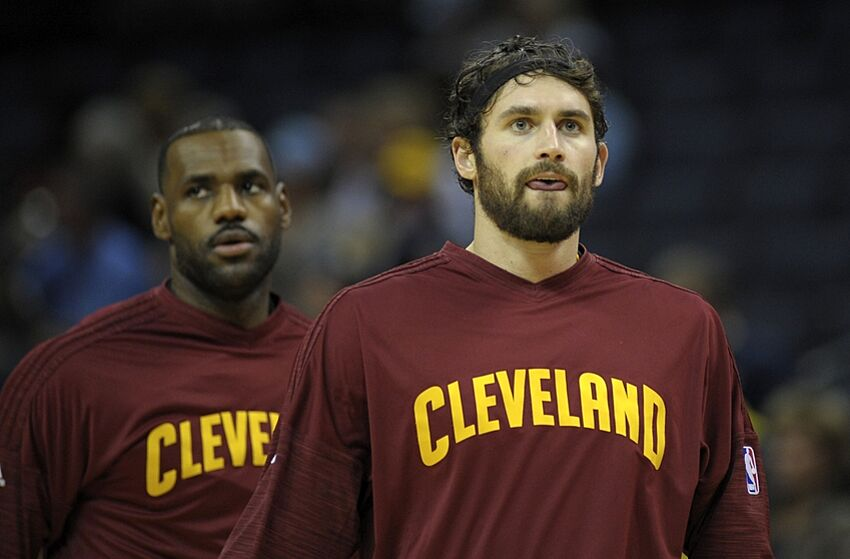 cf2bebad9a8c LeBron James was not happy with Kevin Love being out of shape last season