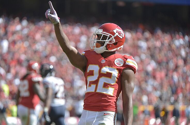 new style 45f79 45d68 Marcus Peters signs '2015 DROY' on jersey (Photo)