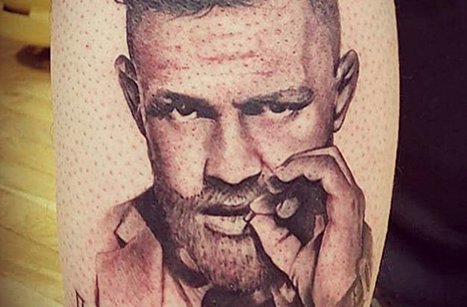 Ufc Fan Gets Conor Mcgregor Tattoo