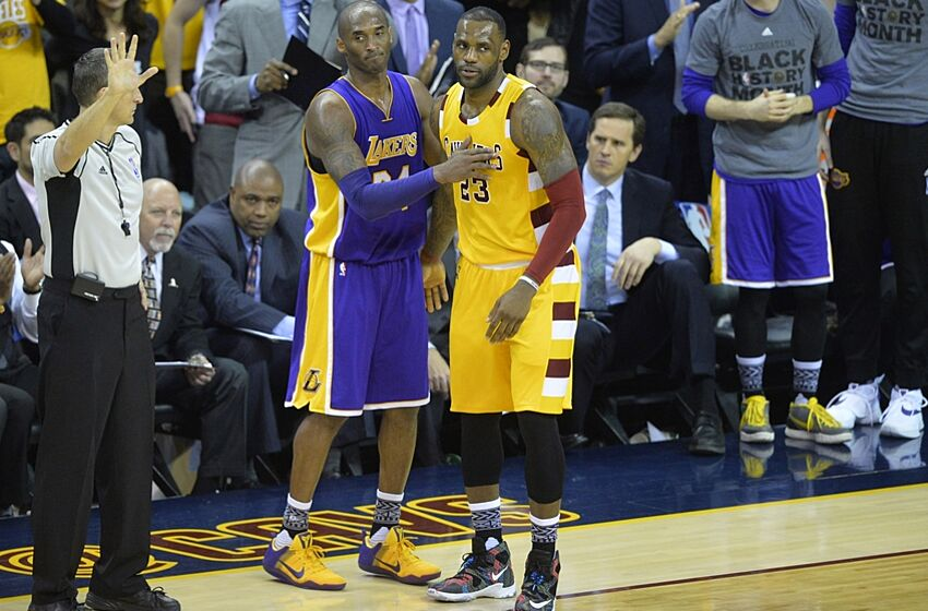 Kobe Bryant Hooked LeBron James Up With Another Pair of Shoes dfec17df3