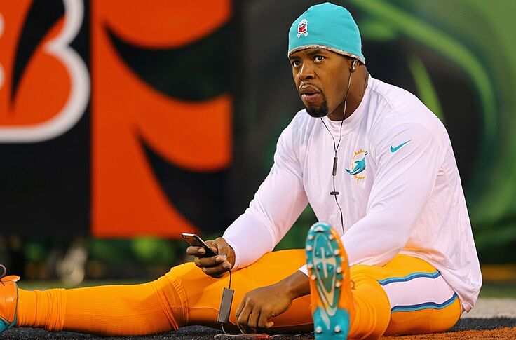 best sneakers 9d15a 8b2c5 The Miami Dolphins' Color Rush uniforms are really, really ...