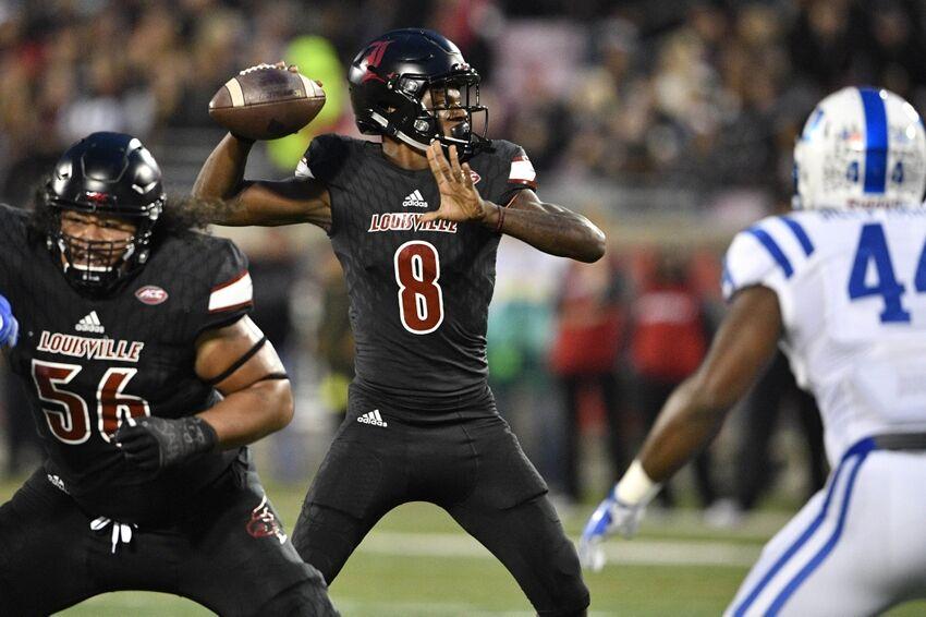Lamar Jackson Bolts For 36 Yard Rushing Td Vs Nc State Video