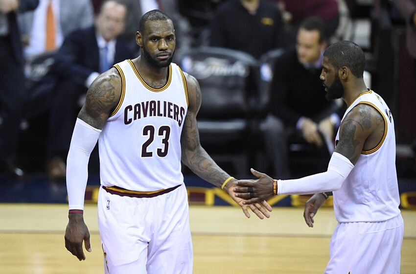 b01d65913b19 LeBron James has a new pick-and-roll combo we should all fear