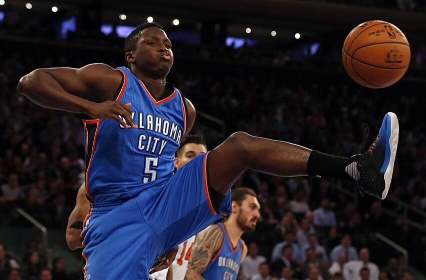 bff481ea09d7 Victor Oladipo is beginning to make the jump with the Thunder