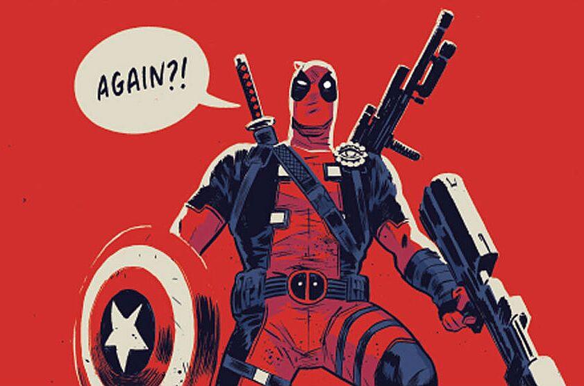 Deadpool Kills The Marvel Universe Again Preview More Violent Laughs