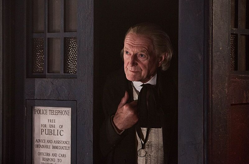 david bradley as the first doctor in the doctor who christmas special photo credit