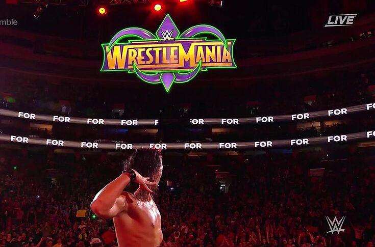 WWE 2018 pay-per-view calendar following Elimination Chamber