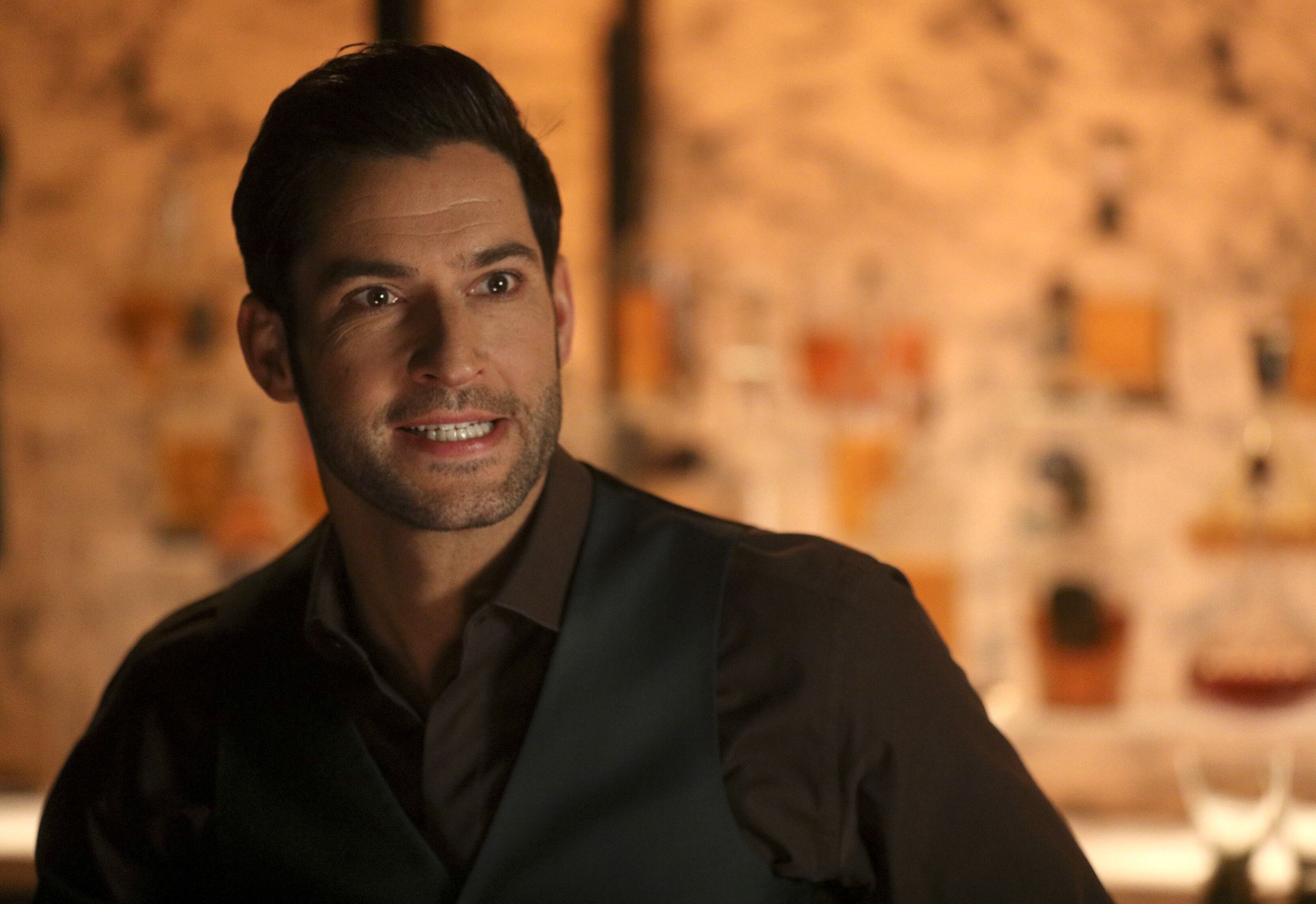 LUCIFER: Tom Ellis in the