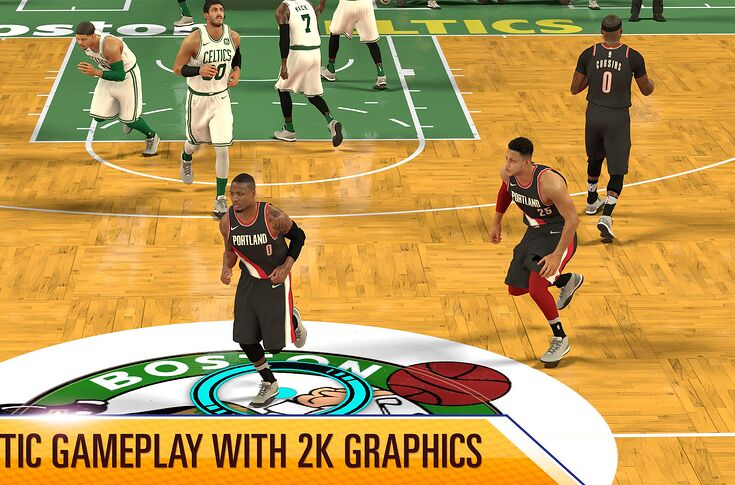 NBA 2K Mobile out now worldwide on IOS for free, Android