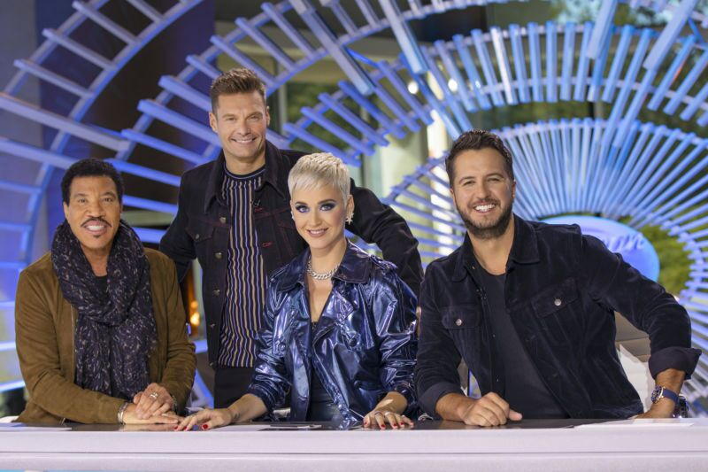 AMERICAN IDOL - Music industry legends and all-star judges Luke Bryan, Katy Perry and Lionel Richie, along with Emmy(r) winning producer and host Ryan Seacrest were on hand when ABC's