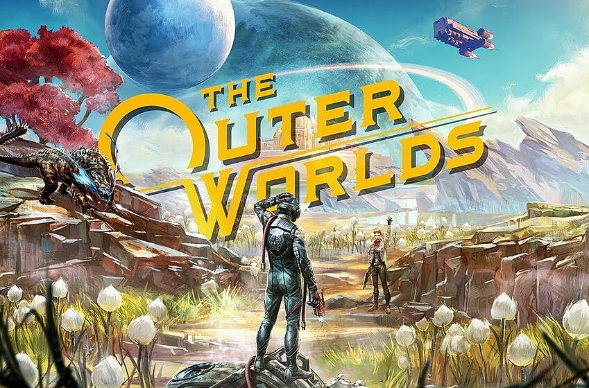 Official still for The Outer Worlds E3 2019 trailer; image courtesy of Obsidian Entertainment.