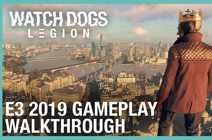 Official still for Watch Dogs: Legion E3 2019 trailer; image courtesy of Ubisoft North America.