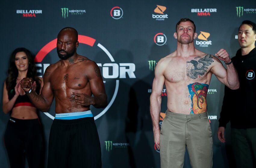 King Mo vs. Andrew Kapel at Bellator 233