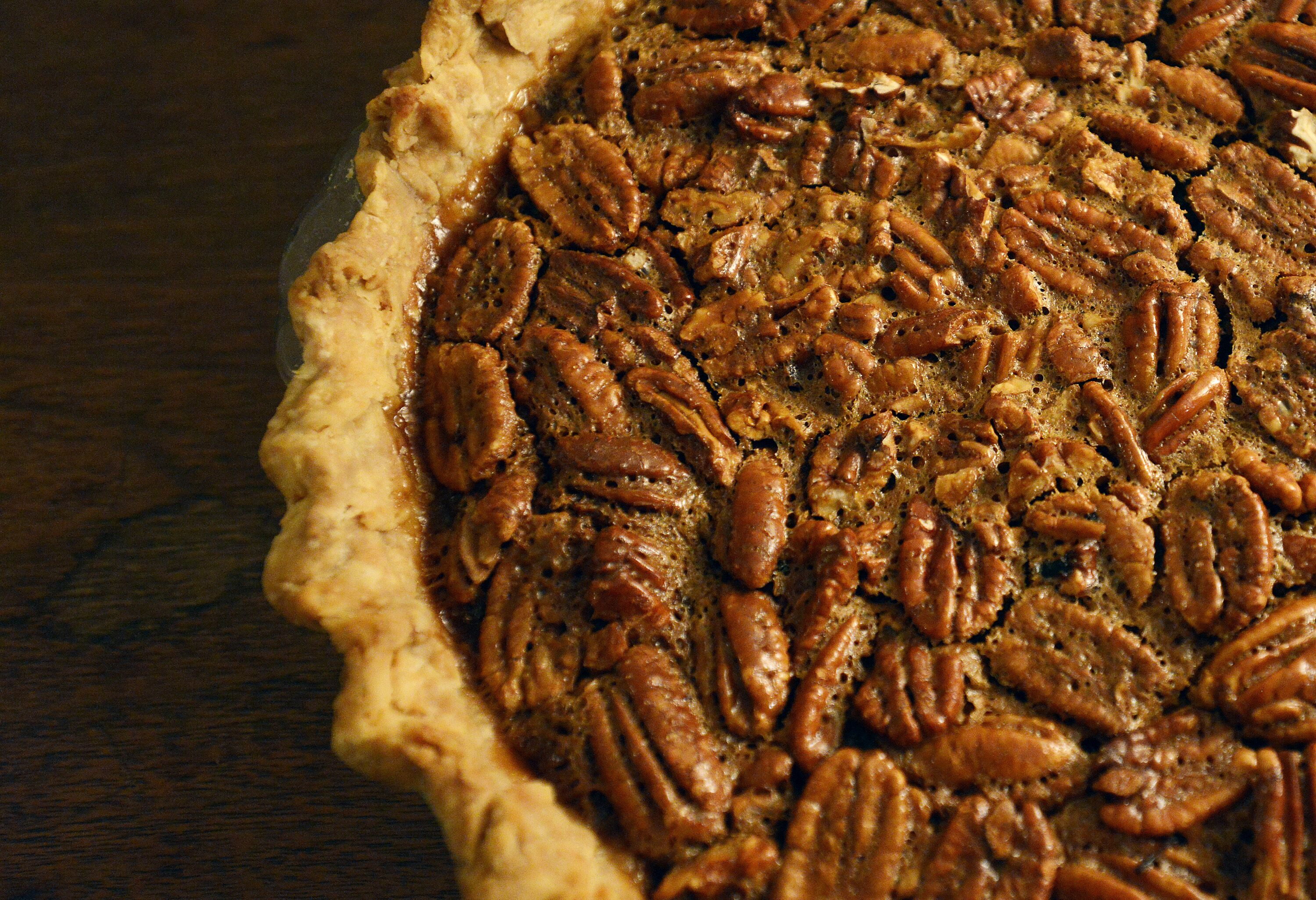 PORTLAND, ME - NOVEMBER 12: Pecan Pie by James Schwartz for the Portland Press Herald signature Thanksgiving dish Thursday, November 12, 2015. (Photo by Shawn Patrick Ouellette/Portland Press Herald via Getty Images)