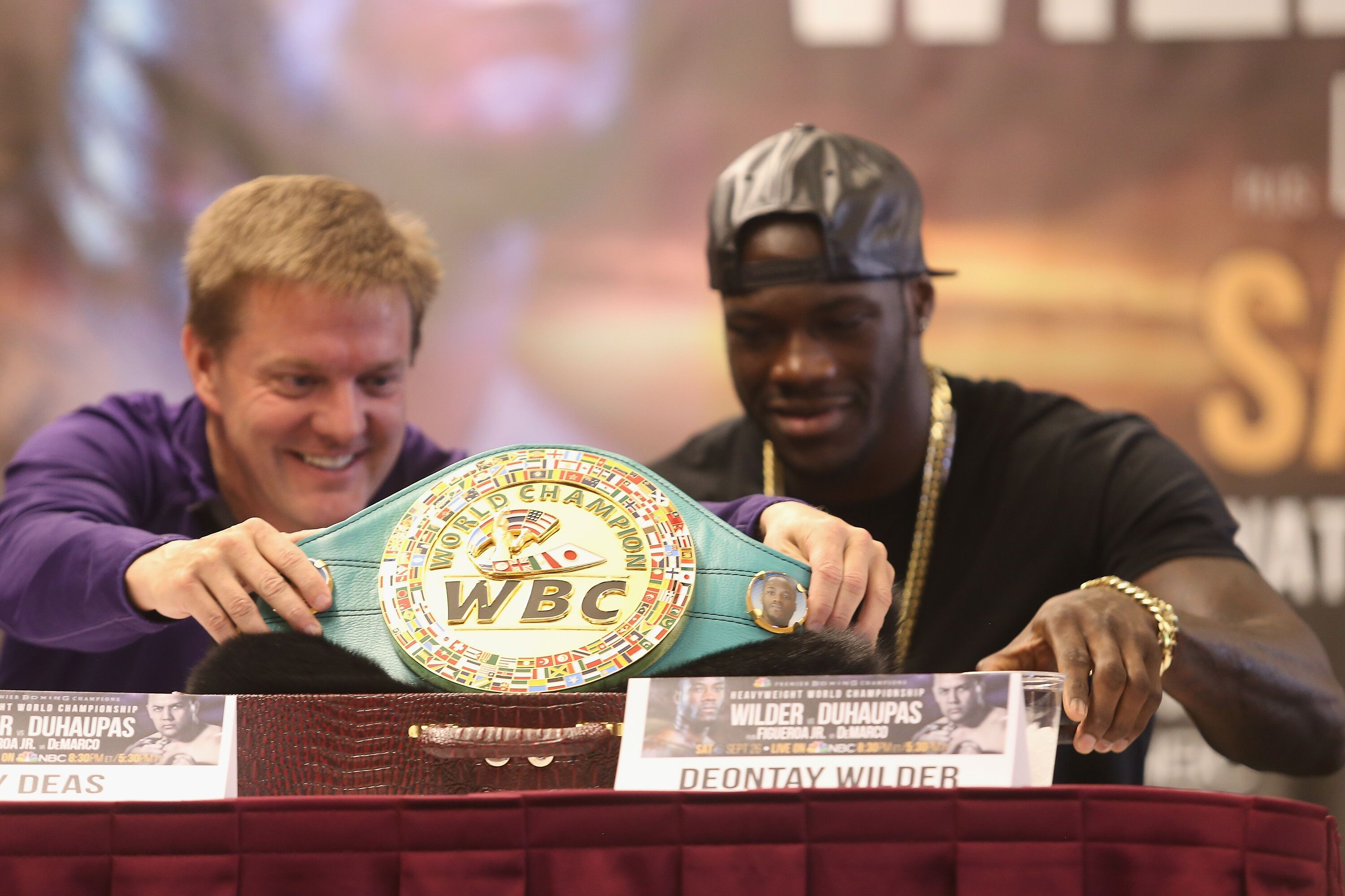 Team Deontay Wilder Talks Anthony Joshua And Luis Ortiz