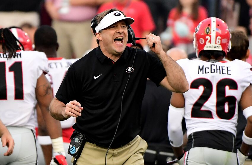 The mentor vs. the protege  How Georgia s Kirby Smart could change the Tide  in the SEC 3829fc018