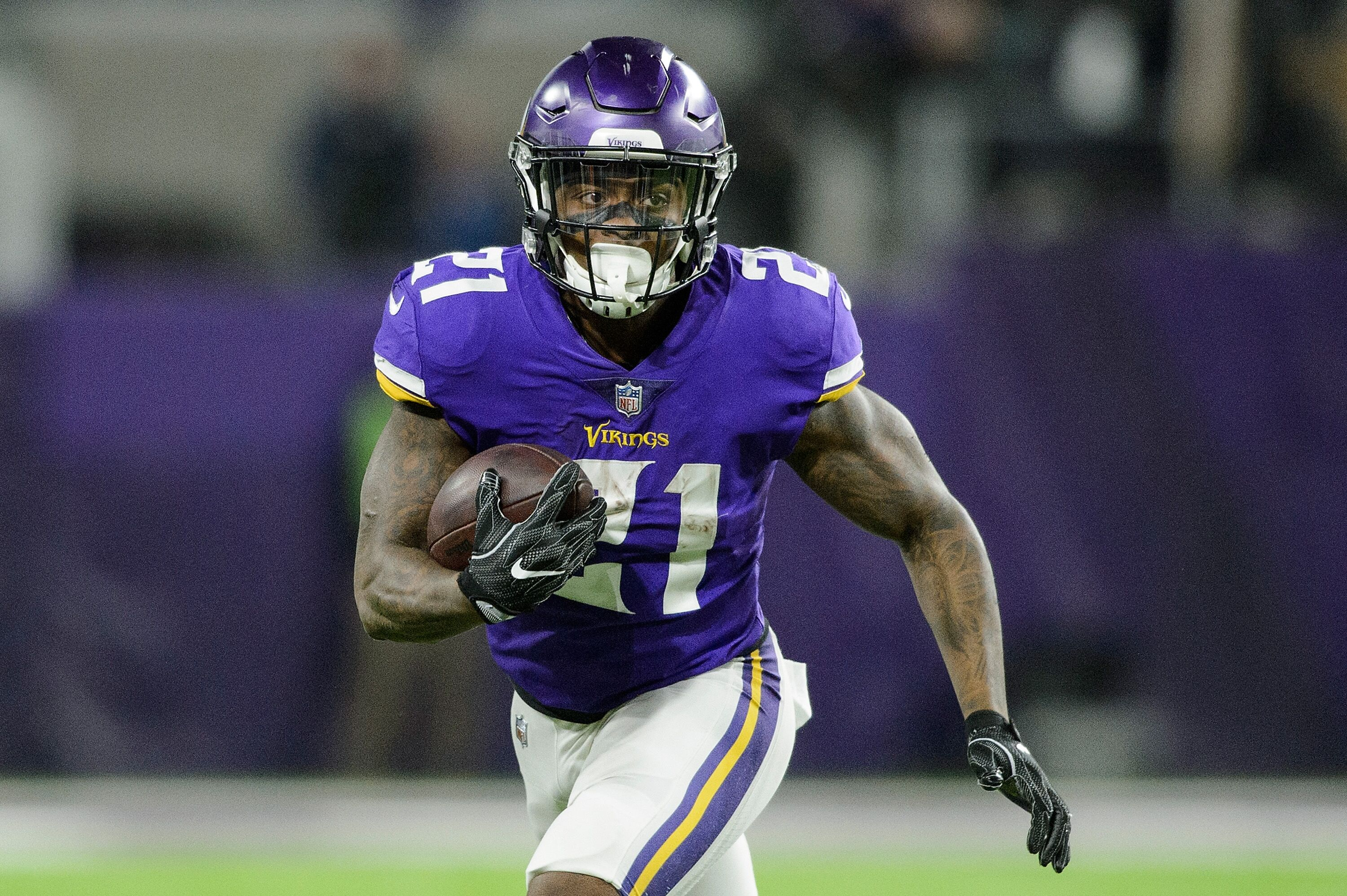 Running back Jerick McKinnon who signed a fouryear 30 million contract with the 49ers in March said the team is focusing on reaching the Super Bowl