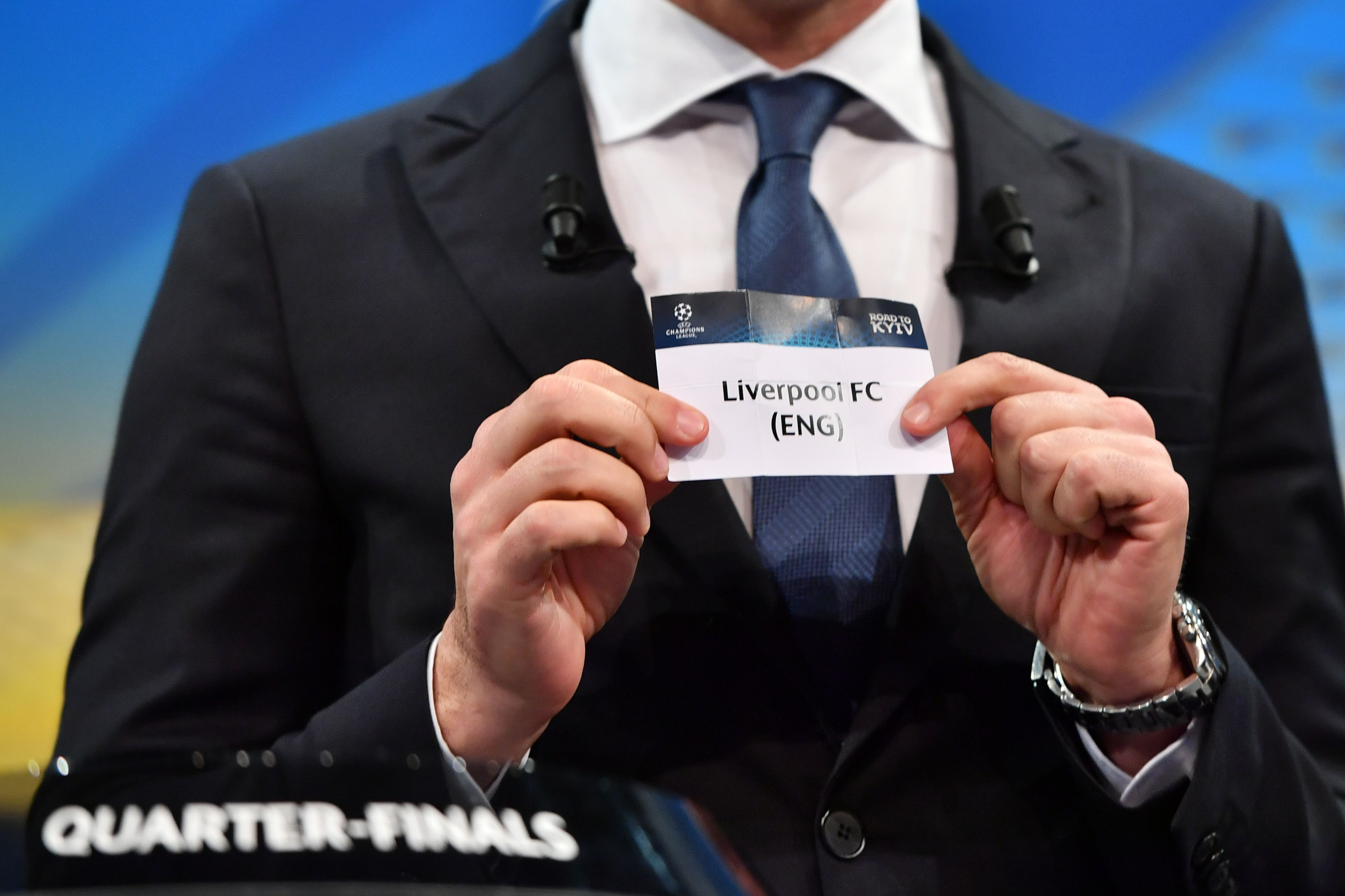 Champions League Quarterfinal Draw Liverpool Vs City Is Tie Of The