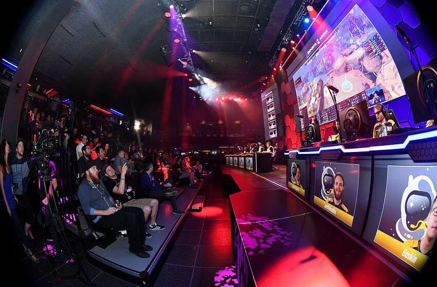 las vegas nv march 22 editors note this image was shot - esports las vegas fortnite