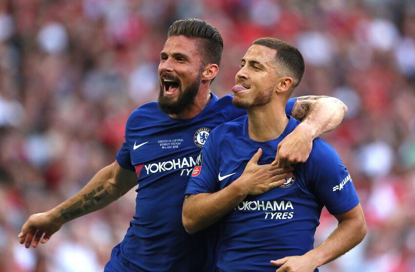 Hazard and Giroud  The Premier League s deadliest duo 4e109b543