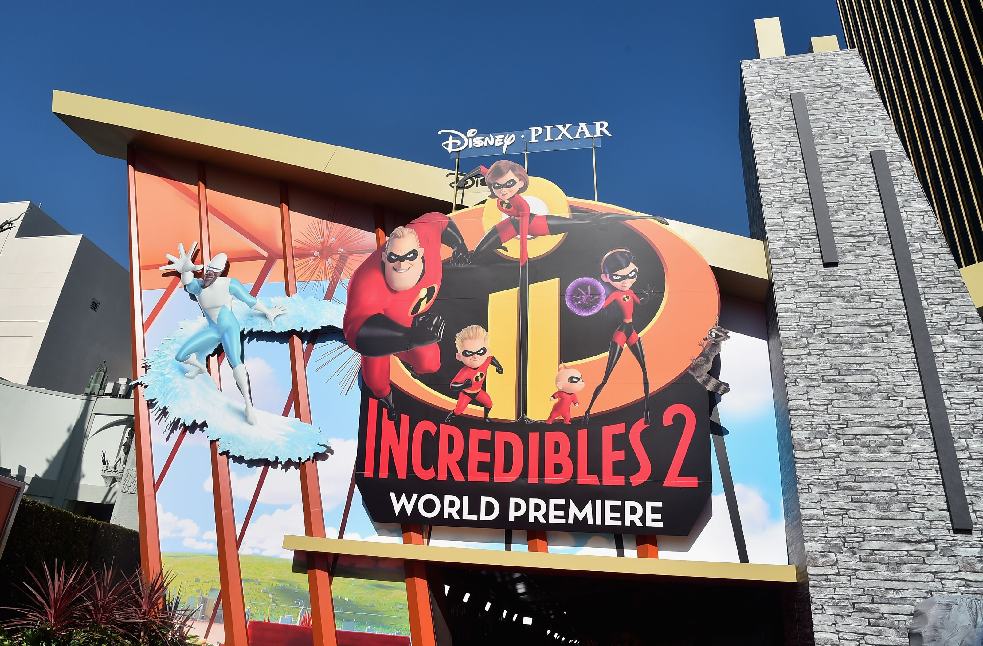 LOS ANGELES, CA - JUNE 05: A general view of the atmosphere during the World Premiere Of Disney-Pixar's