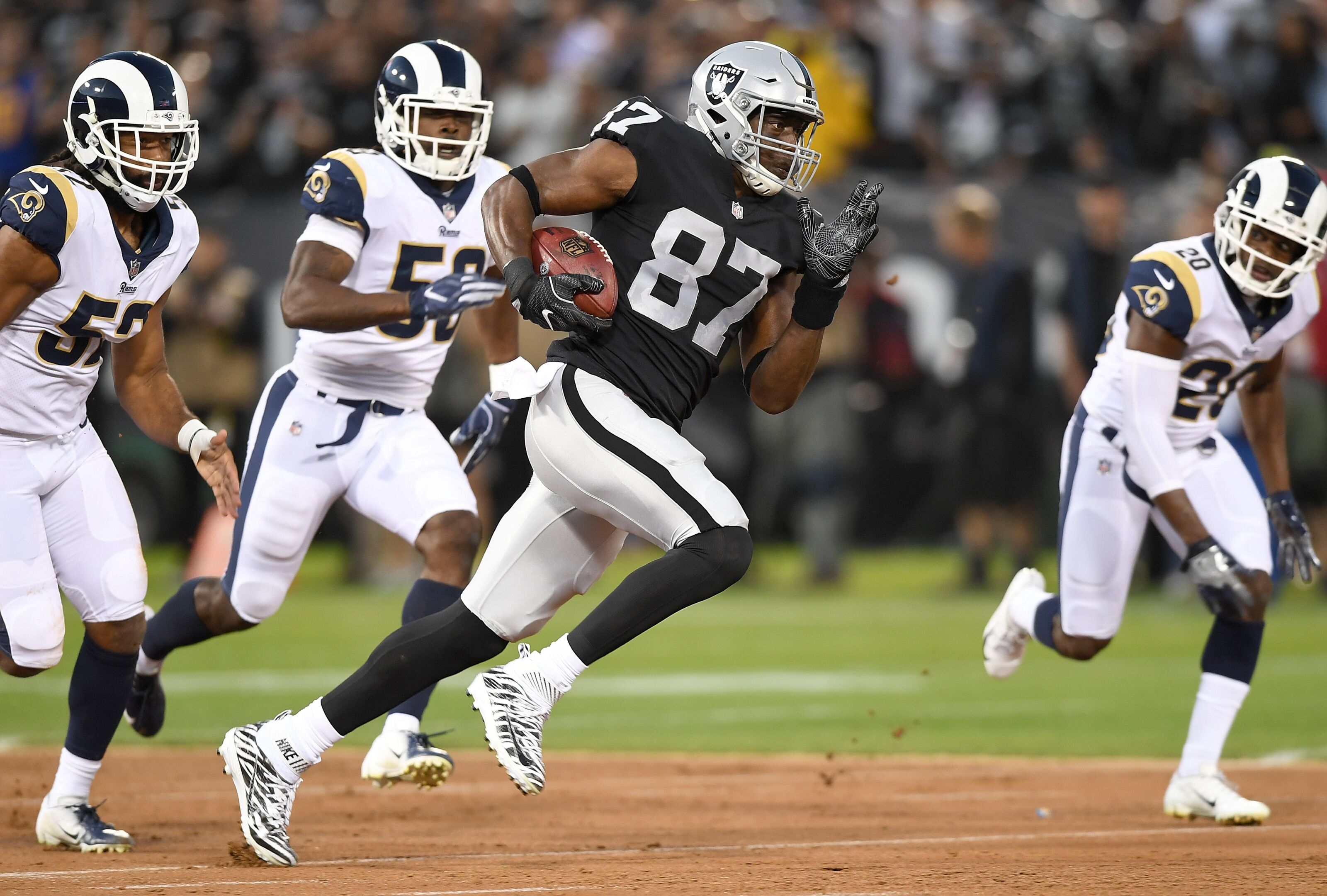 Image result for jared cook raiders