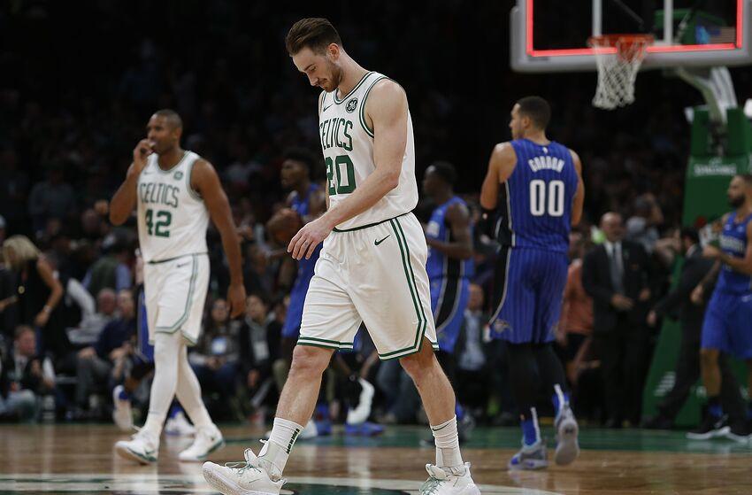 b3d08162b3e1 BOSTON - OCTOBER 22  Boston Celtics  Gordon Hayward