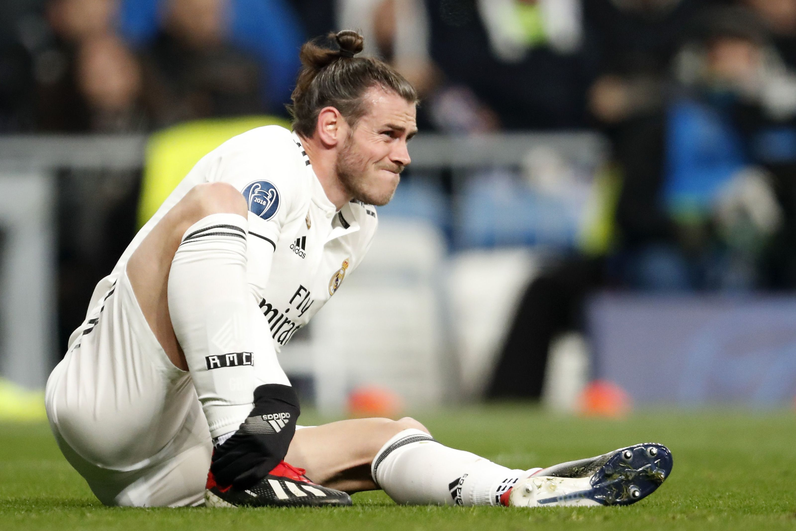 Gareth Bale of Real Madrid during the UEFA Champions League group G match between Real Madrid and CSKA Moskva at the Santiago Bernabeu stadium on December 12, 2018 in Madrid, Spain(Photo by VI Images via Getty Images)
