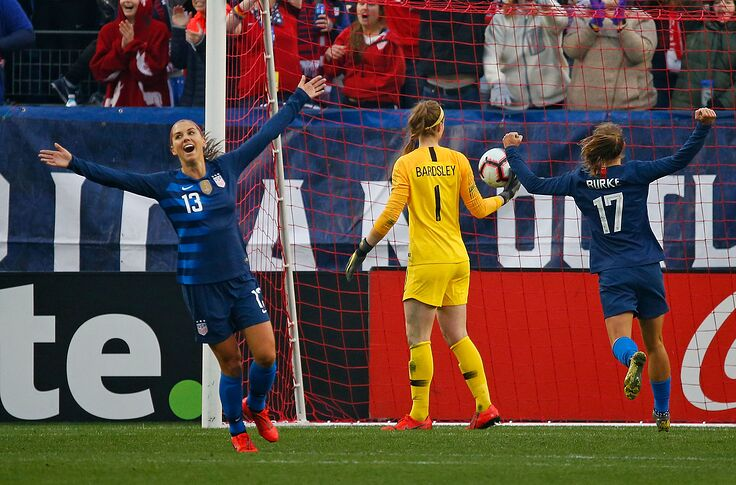 With defense floundering, it's time to appreciate USWNT attack