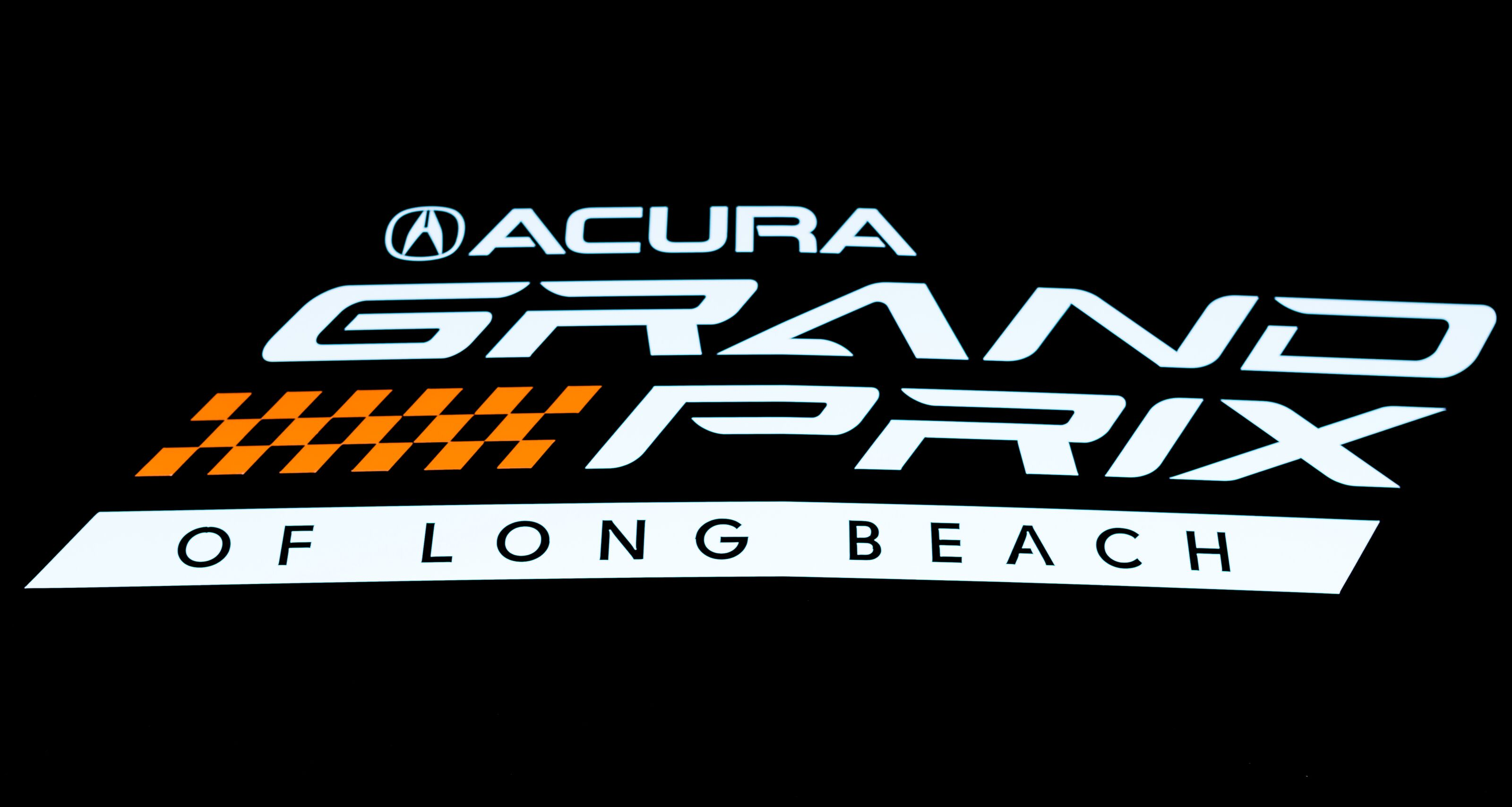 LONG BEACH, CA - APRIL 11: The 2019 Acura Grand Prix of Long Beach Logo on April 11, 2019 in Long Beach, California. (Photo by Greg Doherty/Getty Images)