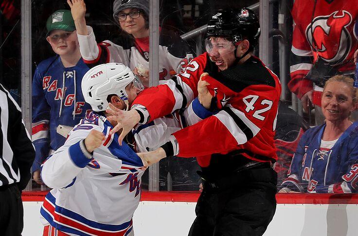 new style 70391 e8599 The New Jersey Devils vs. New York Rangers rivalry has ...