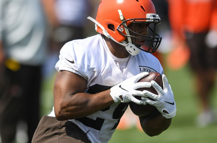 Can Nick Chubb be the No  1 RB in fantasy this year?