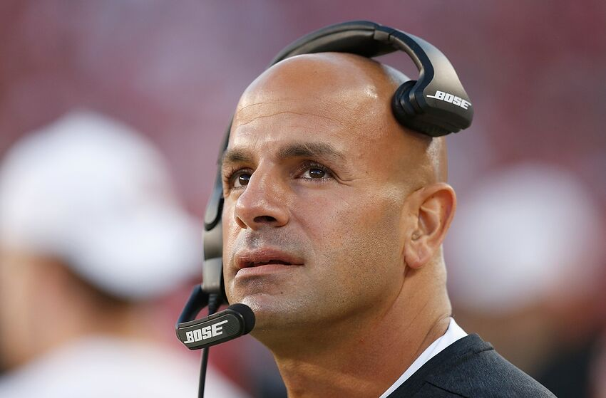 Robert Saleh, San Francisco 49ers. (Photo by Lachlan Cunningham/Getty Images)