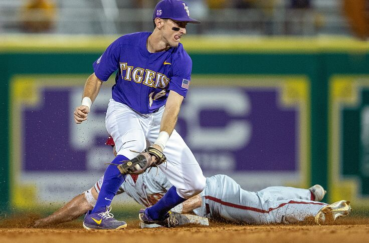 newest collection 47a71 e91e2 College baseball rankings Top 25: LSU at No. 1, Pac-12 off to ...