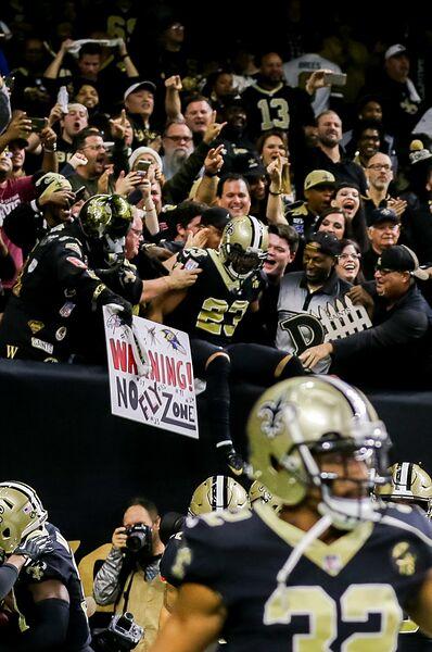 b200df8e8 NEW ORLEANS, LA - NOVEMBER 22: New Orleans Saints cornerback Marshon  Lattimore (23